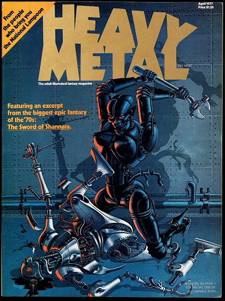 Heavy Metal Magazine (1977)
