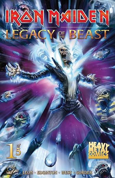 Iron Maiden Legacy of the Beast (2017)