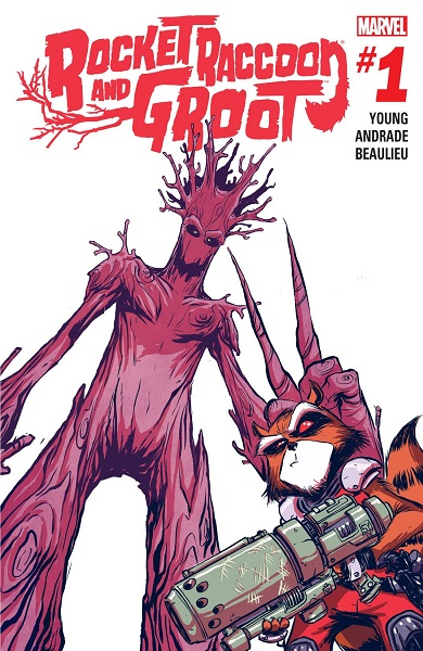 Rocket Raccoon & Groot (2015)