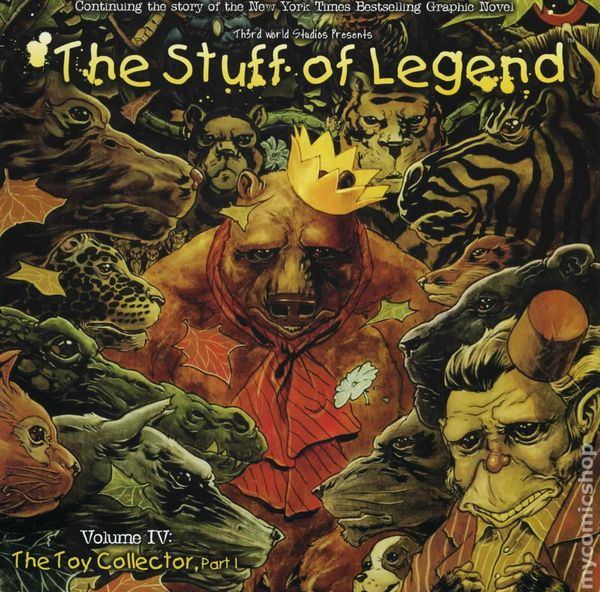 Stuff of Legend: The Toy Collector (2012)
